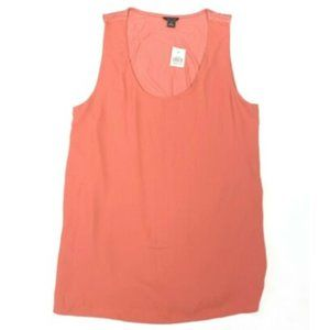 Ann Taylor NWT New S Sienna Pink Sleeveless Top